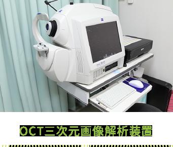 OCT三次元画像解析装置